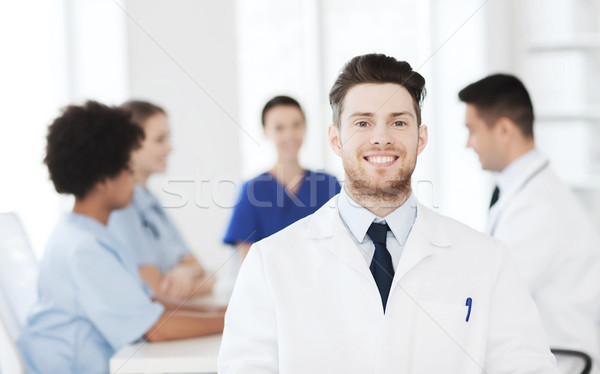 счастливым врач группа больницу клинике профессия Сток-фото © dolgachov