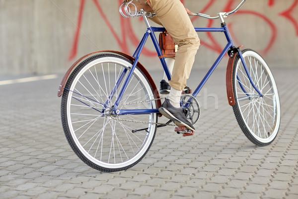 человека верховая езда зафиксировано Gear Сток-фото © dolgachov