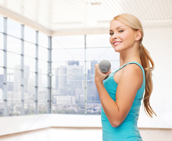 スポーティー 女性 人 フィットネス スポーツ ストックフォト © dolgachov