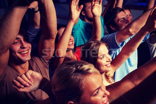 Stock fotó: Csoport · mosolyog · barátok · koncert · klub · buli