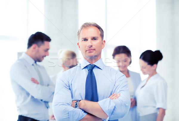 élégant affaires équipe bureau photos affaires Photo stock © dolgachov