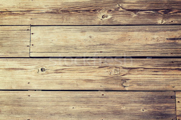 close up of wooden floor or wall background Stock photo © dolgachov