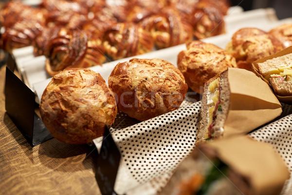 Pan precio tienda alimentos venta Foto stock © dolgachov