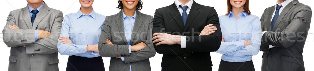 friendly international business team or group Stock photo © dolgachov