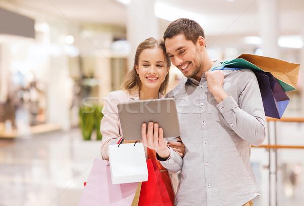 пару Mall продажи Сток-фото © dolgachov
