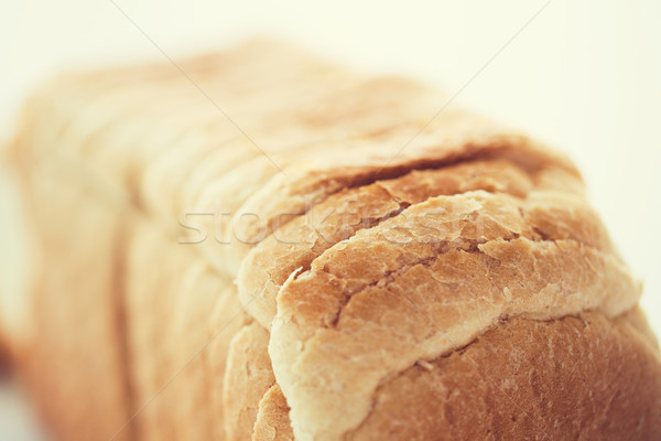 close up of white toast bread Stock photo © dolgachov
