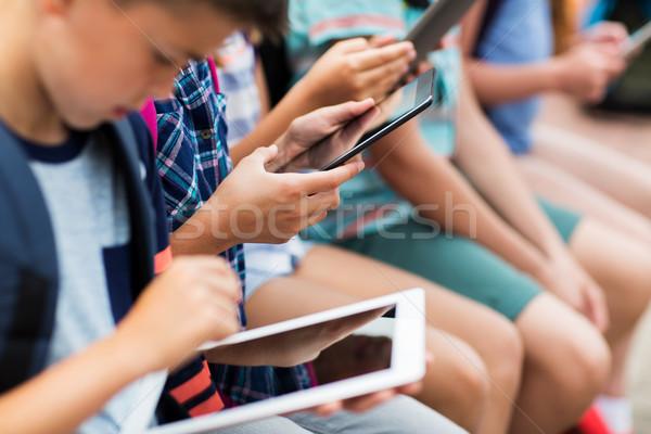 Foto stock: Elemental · estudiantes · primario · educación