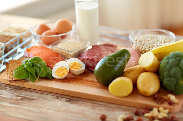 natural rich in protein food on table Stock photo © dolgachov