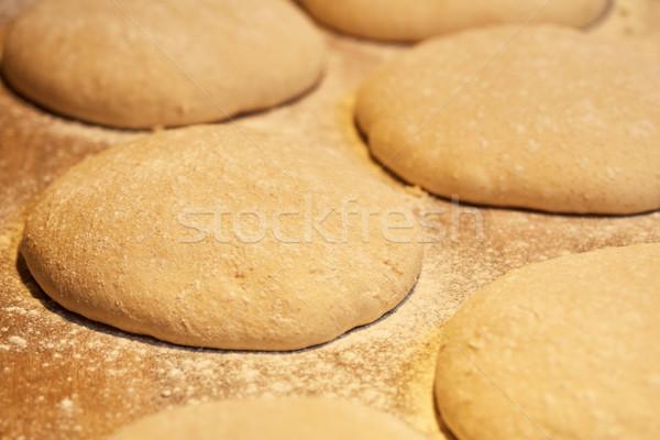 Közelkép élesztő kenyér pékség étel főzés Stock fotó © dolgachov