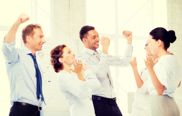 Сток-фото: бизнес-команды · победу · служба · фотография · счастливым