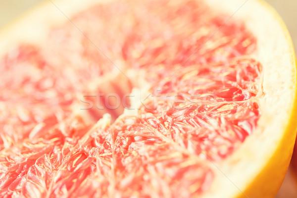 świeże soczysty grejpfrut plaster zdrowe odżywianie Zdjęcia stock © dolgachov