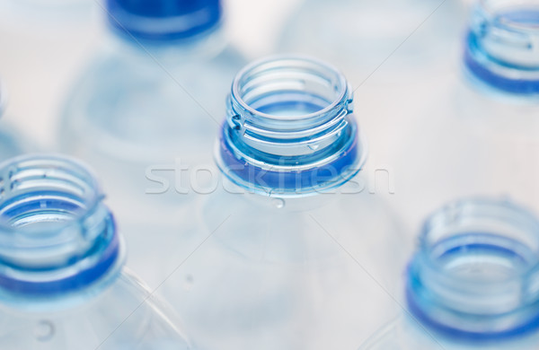 close up of empty used water bottles Stock photo © dolgachov