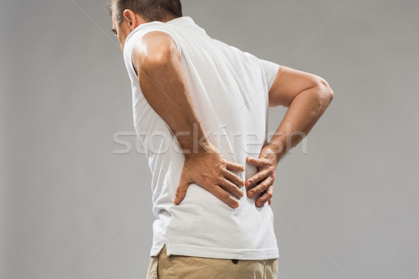 男 腰痛 人 医療 ストックフォト © dolgachov