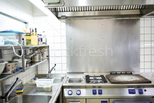 レストラン プロ 台所用品 料理 公共 ケータリング ストックフォト © dolgachov