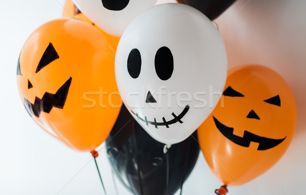 scary air balloons decoration for halloween party Stock photo © dolgachov