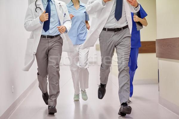 врачи работает больницу здравоохранения люди Сток-фото © dolgachov