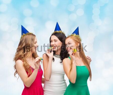 Stockfoto: Gelukkig · vrouwen · partij · mensen · viering