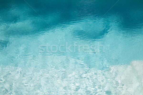 water in pool, sea or ocean Stock photo © dolgachov