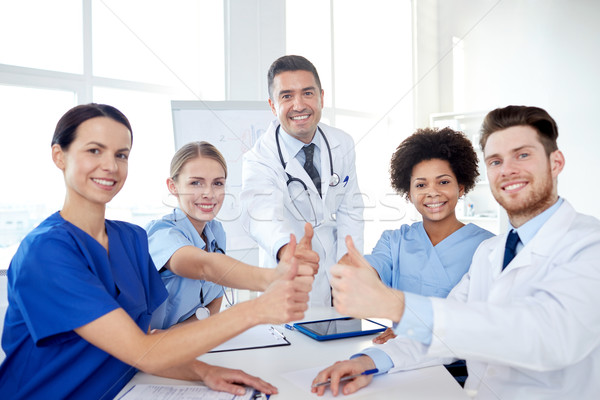 Grupo médicos hospital Foto stock © dolgachov