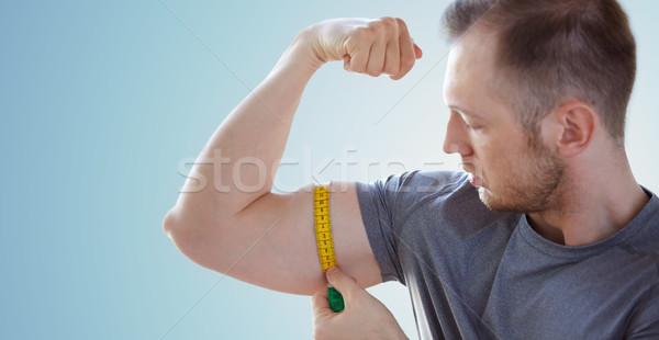 мужчины рук лента спорт Сток-фото © dolgachov