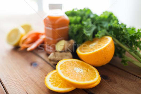 Arancione frutti verdura alimentare Foto d'archivio © dolgachov