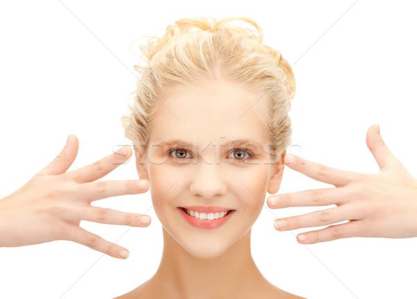 Schönen Hände Gesundheit Schönheit Stock foto © dolgachov