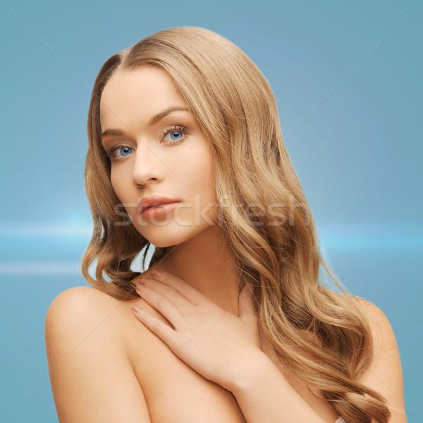 美人 長髪 健康 美 顔 女性 ストックフォト © dolgachov