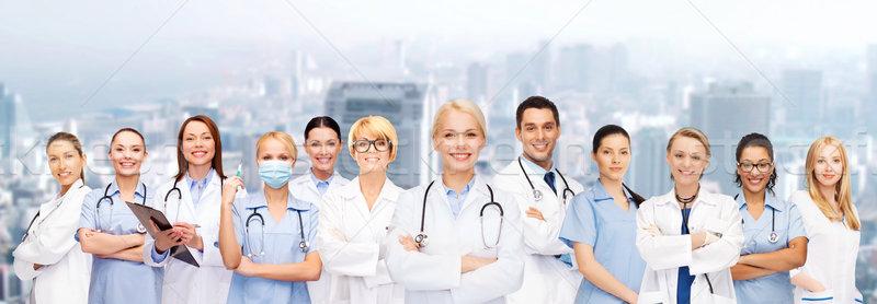 Сток-фото: команда · группа · врачи · медицина · здравоохранения