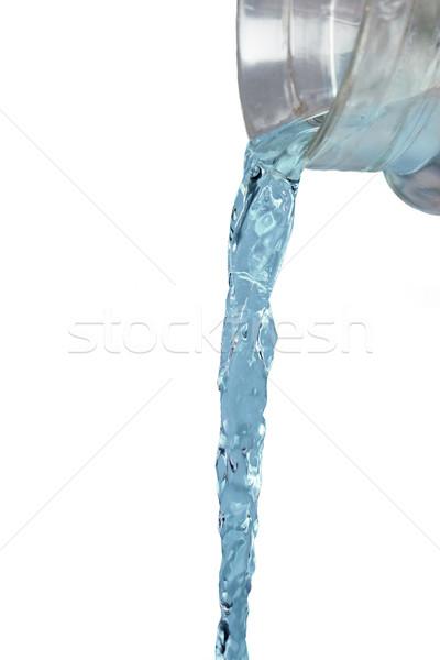 Agua Jet vidrio jarra Foto stock © dolgachov