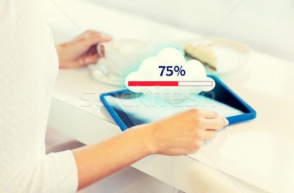 Stockfoto: Vrouw · mensen · technologie