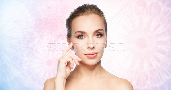 Belo mulher jovem beleza pessoas cirurgia plástica Foto stock © dolgachov
