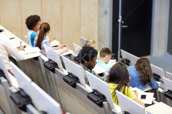 国際 学生 大学 講義 ホール 教育 ストックフォト © dolgachov