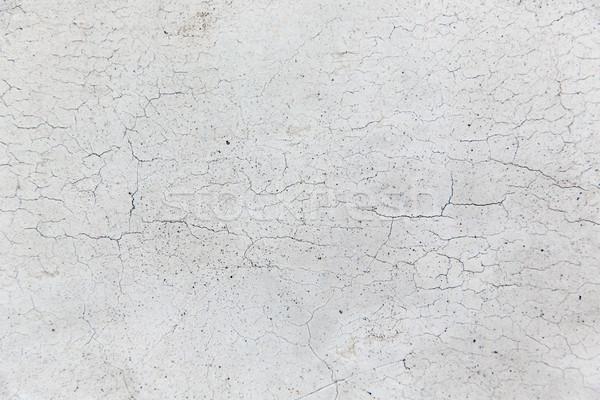 Közelkép repedt kőfal felület textúra kő Stock fotó © dolgachov
