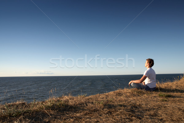 Stock photo: meditation