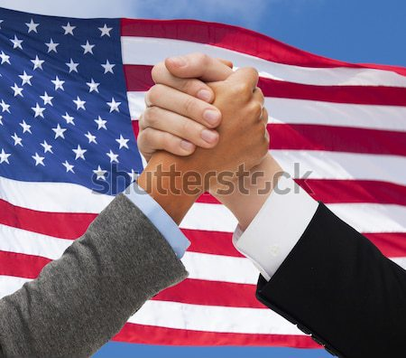 Közelkép leszbikus pár kéz a kézben emberek homoszexualitás Stock fotó © dolgachov