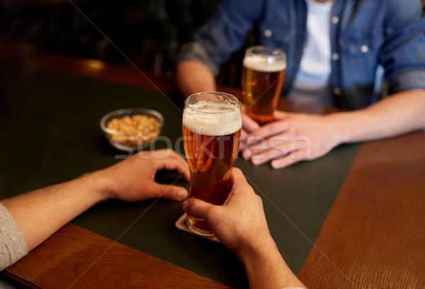 男性 飲料 ビール バー パブ ストックフォト © dolgachov