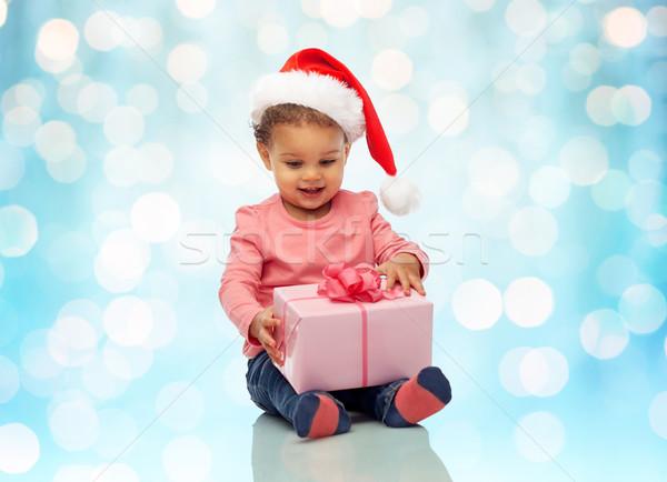 ストックフォト: 幸せ · クリスマス · 現在 · 幼年