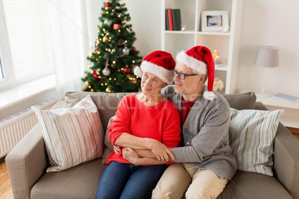 Mutlu Noel tatil Stok fotoğraf © dolgachov