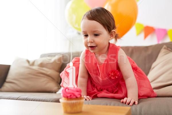Foto d'archivio: Compleanno · home · party · infanzia