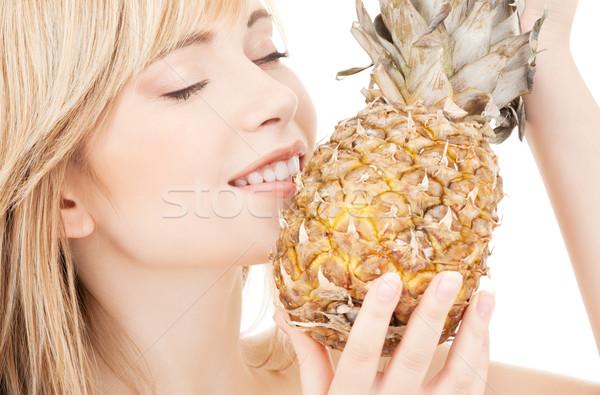 pineapple Stock photo © dolgachov