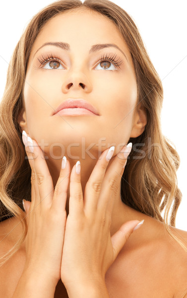 Stock photo: lovely woman