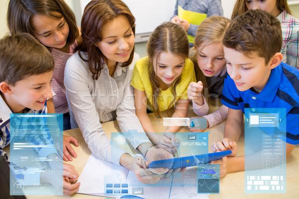 Сток-фото: группа · дети · учитель · школы · образование