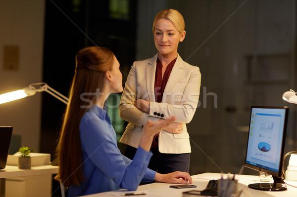 実業 コンピュータ 作業 遅い オフィス ビジネス ストックフォト © dolgachov