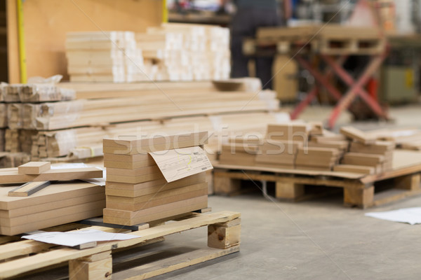 Bois atelier usine production industrie construction Photo stock © dolgachov