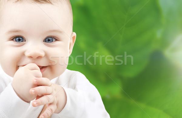 adorable baby Stock photo © dolgachov