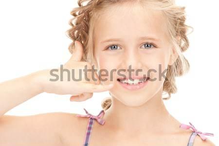 gossip Stock photo © dolgachov