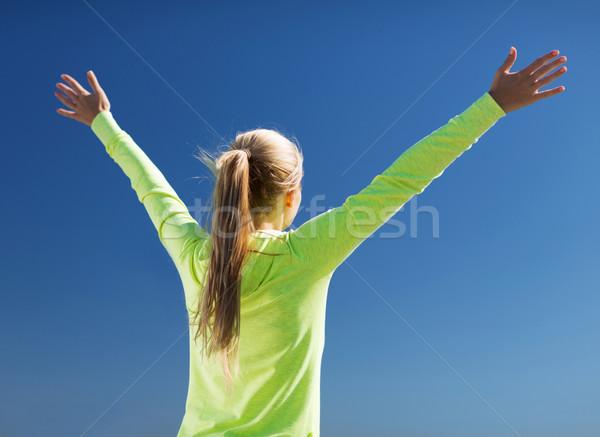 Stok fotoğraf: Kadın · spor · açık · havada · spor · uygunluk · egzersiz