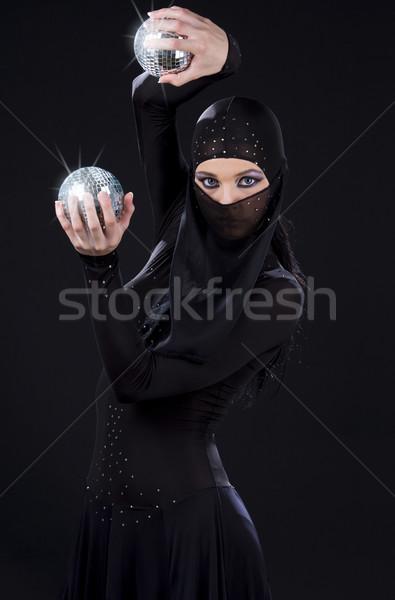 ninja dance Stock photo © dolgachov