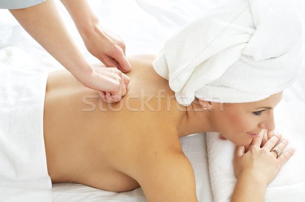 massage #3 Stock photo © dolgachov