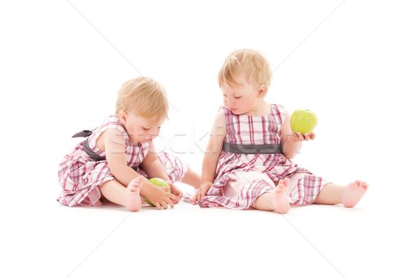 Stock photo: twins